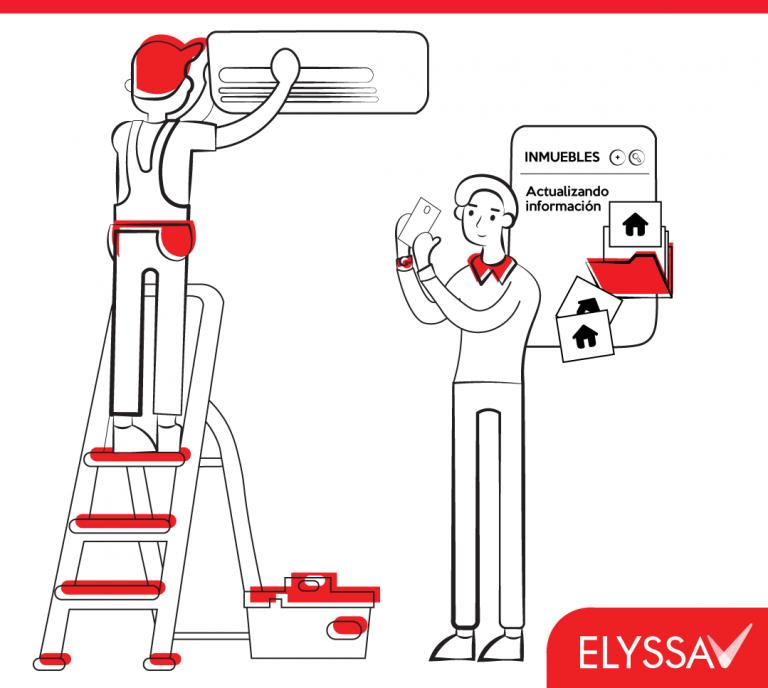 ¿Cómo digitalizamos desde Elyssa el registro de reparaciones locativas del inmueble?