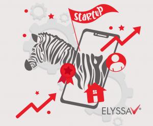 Lee más sobre el artículo En Elyssa app somos de rayas negras y blancas: Somos una startup cebra