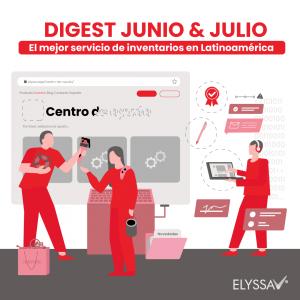 Lee más sobre el artículo Digest Junio: El mejor servicio de inventarios en Latinoamérica